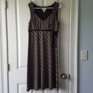 LOFT Size 10 bright dress with defective zip